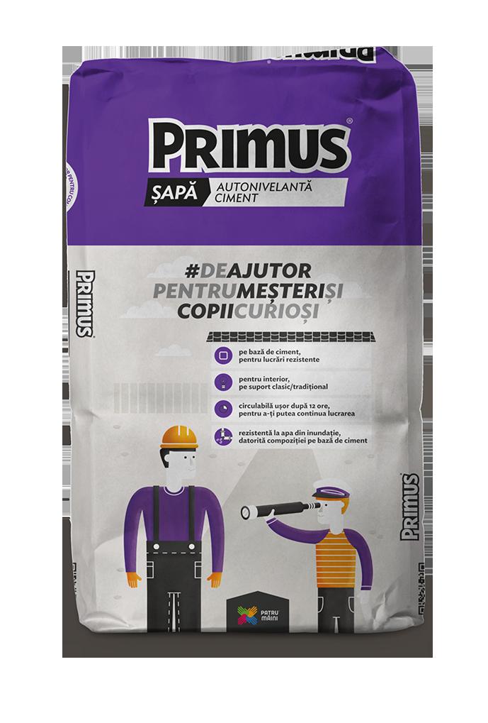 PRIMUS Sapa Autonivelanta (Autonivelant) 25kg_NOU