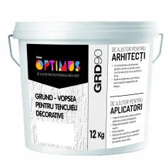 OPTIMUS Grund Tencuieli Alb (GRD90) 12kg