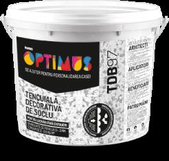 OPTIMUS Tencuială Decorativă de Soclu (TDB97) 10kg